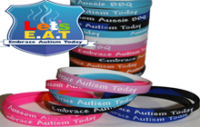 lets embrace autism wristbands